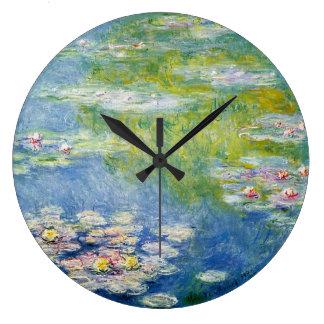 Water wall clocks zazzle - Numberless clock ...