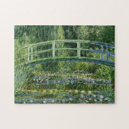 MONET Water Lily Pond 1897 jigsaw puzzle 10x14