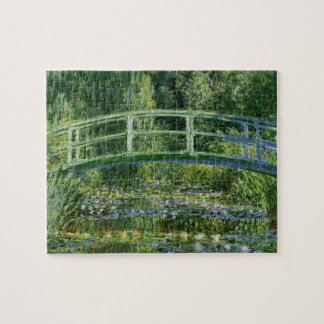 MONET Water Lily Pond 1897 jigsaw puzzle 8x10 +tin