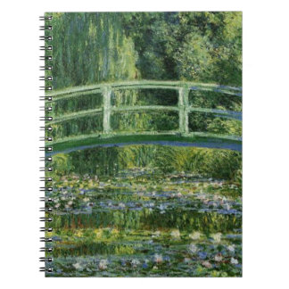 MONET Water Lily Pond 1897 notebook / diary