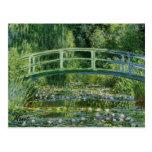 MONET Water Lily Pond 1897 Postcard