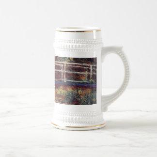 MONET Water Lily Pond Beer Mug Symphony in Rose