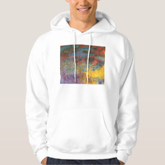 Monet Water Lily Pond Evening Hoodie