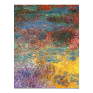 Monet Water Lily Pond Evening Invitations