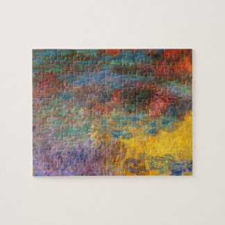 Monet Water Lily Pond Evening puzzle