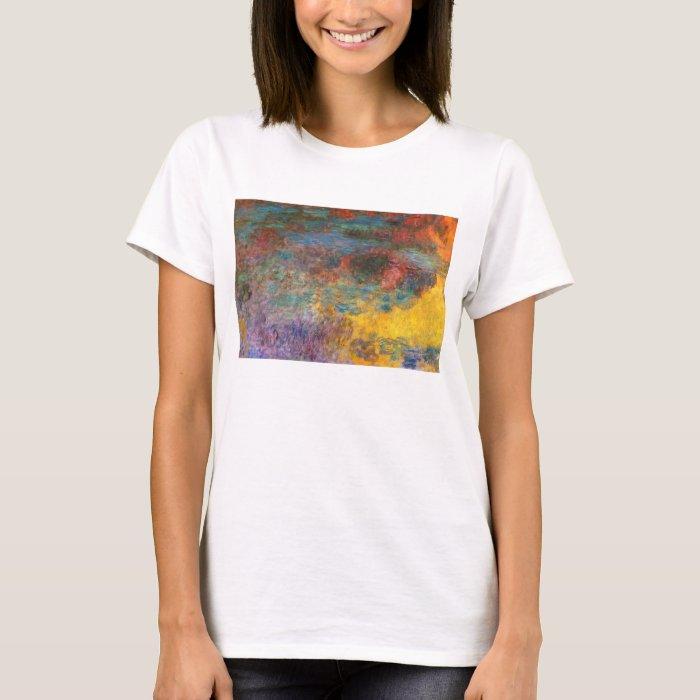 Monet Water Lily Pond Evening T-shirt