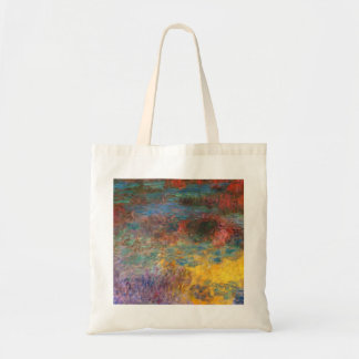 Monet Water Lily Pond Evening Tote Bag