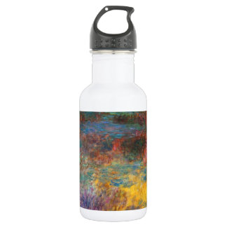 Monet Water Lily Pond Evening Water Bottle