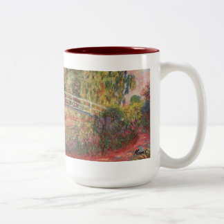 MONET Water Lily Pond Mug WATER IRISES