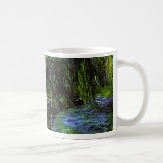 MONET Water Lily Pond Mug WEEPING WILLOWS