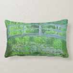 MONET Water Lily Pond Pillow Symphony in Green
