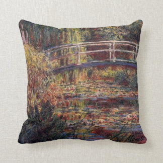 MONET Water Lily Pond Pillow Symphony in Rose