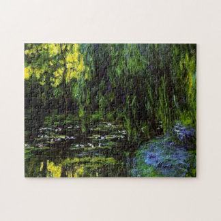MONET Water Lily Pond Puzzle WEEPING WILLOWS