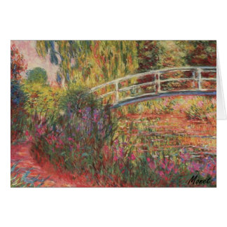 MONET Water Lily Pond Water Irises Greeting Cards