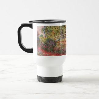 MONET Water Lily Pond: WATER IRISES Thermos / Mug