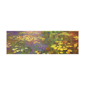 Monet Water Lilys Fine Art Canvas Print