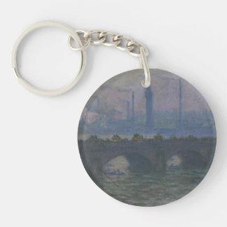 Monet - Waterloo Bridge Keychain