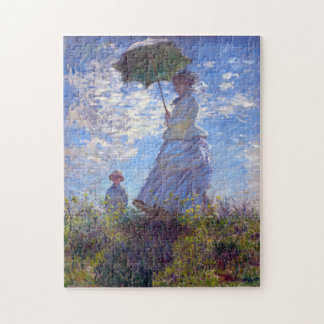 Monet Woman with a Parasol Fine Art Jigsaw Puzzle