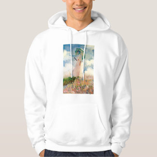 Monet Woman With A Parasol Hoodie