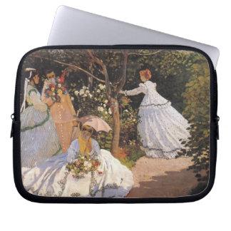 Monet - Women in the Garden Laptop Sleeve