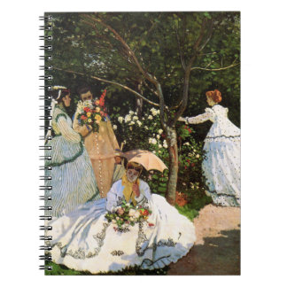Monet Women in the Garden Notebook