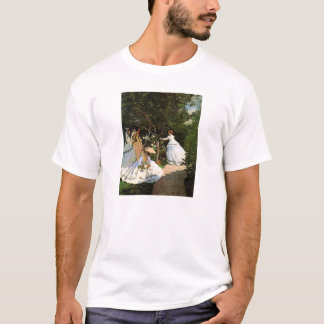 Monet Women in the Garden T-shirt