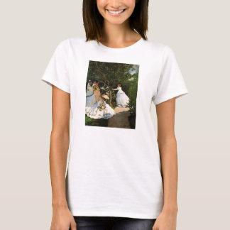 Monet Women in the Garden T-shirt
