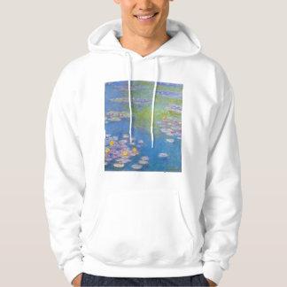 Monet Yellow Water Lilies Hoodie