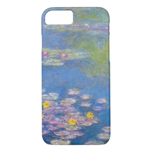 Monet Yellow Water Lilies iPhone 7 case Phone Case
