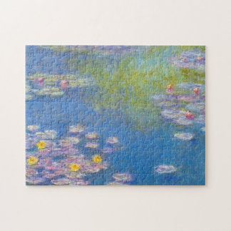 Monet Yellow Water Lilies Puzzle