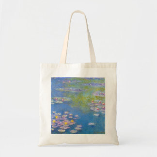 Monet Yellow Water Lilies Tote Bag