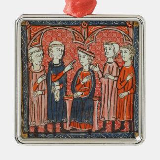 Monetary regulation, from 'Decrets de Gratien' Christmas Tree Ornaments