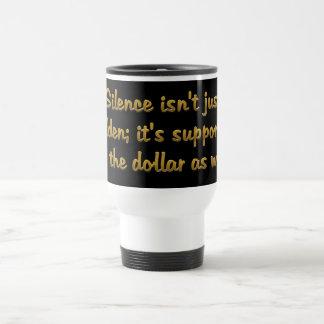 Monetary Standards Wide Travel Mug