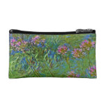 Monet's Agapanthus Flowers Cosmetic Bag