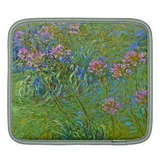 Monet's Agapanthus Flowers iPad Sleeves