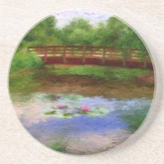 Monet's Bridge Coaster