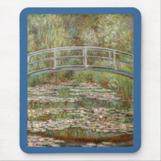 "Monet's ""Bridge Over a Pond of Water Lilies"" 1899 Mouse Pad"