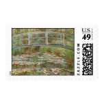 """Monet's """"Bridge Over a Pond of Water Lilies"""" 1899 Stamps"""