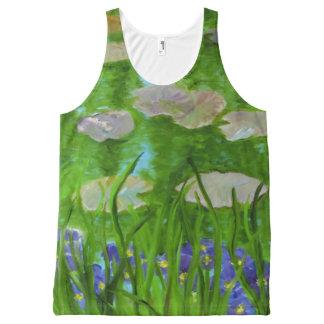 Monet's Garden All-Over Print Tank Top