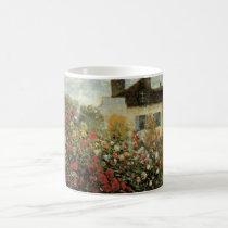 Monet's Garden at Argenteuil by Claude Monet Coffee Mug