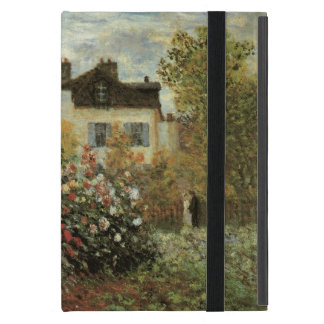 Monet's Garden at Argenteuil by Claude Monet iPad Mini Case