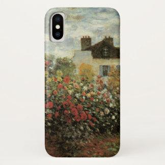 Monet's Garden at Argenteuil by Claude Monet iPhone X Case