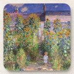 Monet's Garden at Vétheuil Beverage Coaster