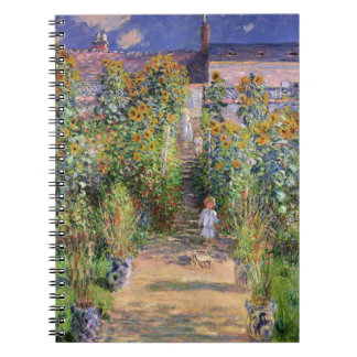 Monet's Garden at Vétheuil Notebook