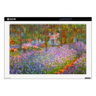 "Monet's Garden by Claude Monet Skin For 17"" Laptop"