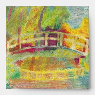 Monet's Japanese Bridge Envelope