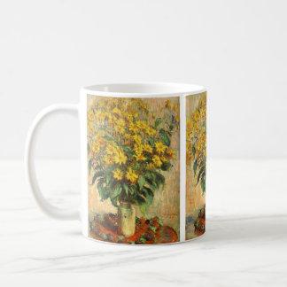 Monet's Jerusalem Artichokes Coffee Mug
