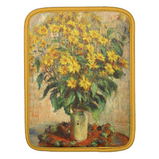 Monet's Jerusalem Artichokes iPad Sleeve