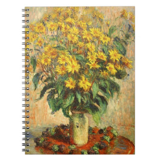 Monet's Jerusalem Artichokes Notebook