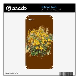 Monet's Jerusalem Artichokes Skin For The iPhone 4